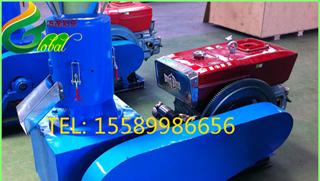 意大利客户订购柴油机颗粒机