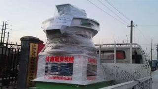 安徽芜湖木屑颗粒机发货了