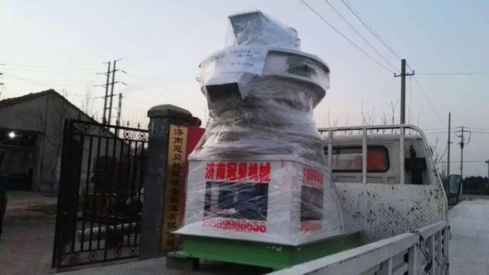 安徽芜湖生物质颗粒机设备发货